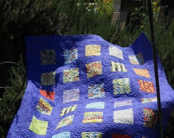 Charming Fun Mod Baby Quilt