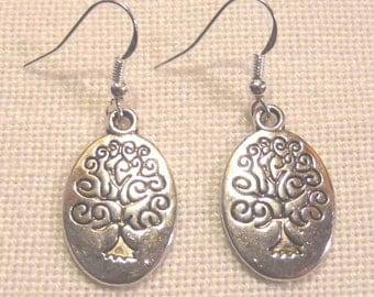 Tibet Silver Earrings / Tree's