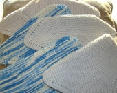 Knitted Dishcloths RESERVE Special Order by PrinkerWink RESERVE