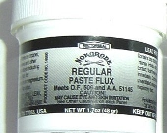 Paste Flux - Nokorode Odorless and Lead Free Cleans while fluxing - PROTECTS SOLDER. Use LESS with a paste.