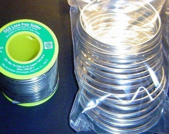 Quarter Pound (4 oz) Roll of Canfield ((( DGS ))) Lead Free Solder for Pendant Art with SILVER for jewelry art