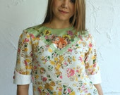 fox print floral top Supayana