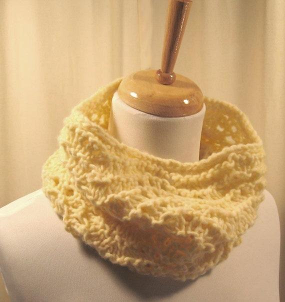 Buttermint Cowl Neckwarmer - Yellow