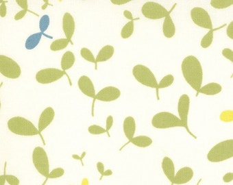 Moda Chrysalis by Sanae Seed Pods Cream cotton Fabric by the yard 32425-14