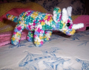 Rainbow Triceratops