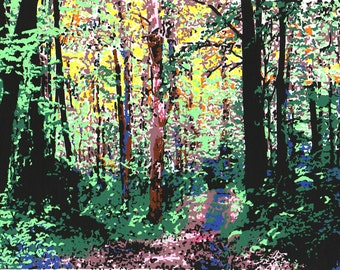 Appalachian Spring original serigraph signed and numbered