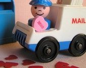 Little People Mail Delivery Valentine