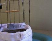 Miniature Wire Birdcage  -  Rest