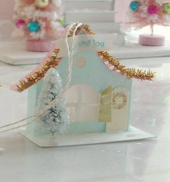 Cottage in Sparkling Snow