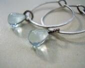 Liquid Blue Earrings