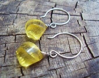 Lemon Swirl Earrings