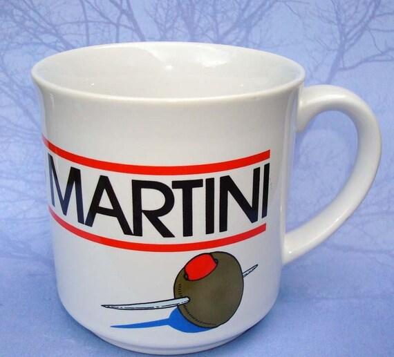 morning martini vintage coffee mug. Black Bedroom Furniture Sets. Home Design Ideas