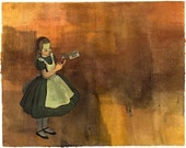 Alice in Wonderland All 3 Prints Collection 8x10