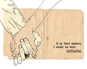 Infinite Digital Download Inspirational Quote Art Print