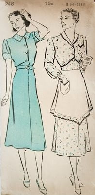 Vintage Apron Patterns - Sewing Patterns and Tutorials