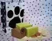 DOGGIE Soap Oatmeal Neem Eucalyptus Citronella Goats Milk PLUS Free Goodies fun Samples for Humans too