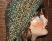 Crochet Slouchy Tam Beret  PDF PATTERN ONLY
