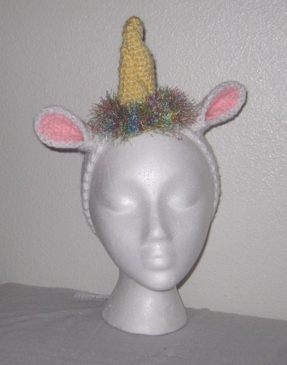 Not the Last Unicorn Headband by msfitts13 on Etsy