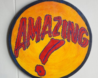Amazing Sideshow banner bullet painting