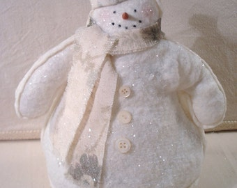 PDF Sparkly Snowman Tutorial no shipping cost