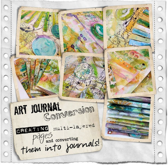 Art Journal Conversion On-Line Workshop
