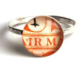 American Postage Stamp Ring - Size 6