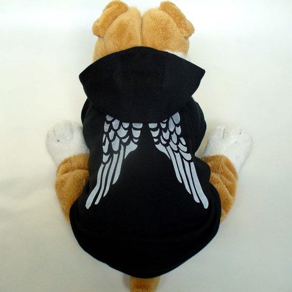 Angel Wing Dog Hoodie