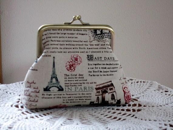 Medium Snap Purse Travel Journal Antiquebasketlady