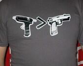 Glue guns greater than guns