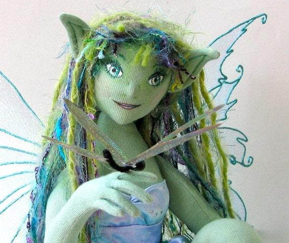 OOAK Fairy Art Doll  - The Naiad