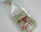 Cerveza Sol Beer Bottle Spoon Rest or Snack Server - Recycled Eco-Friendly