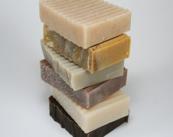Handmade Soap Variety Pack - 6 soap bars of your choice