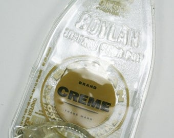 Old Fashioned Boylans Creme Soda Bottle Flat Spoon Rest - Recycled Eco-Friendly