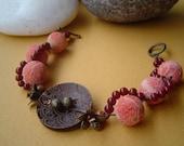 Africa Coral Bracelet