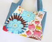 Small Handbag Purse - Clutterbags - Summer Totem.