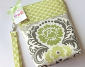 Diaper And Wipes Pouch - Made To Match - You Can Choose The Fabrics -Clutterbags.
