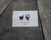 Galena Mineral Stud Earrings