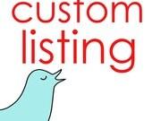 Custom Listing for hnm84