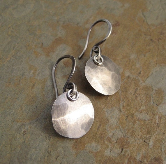 Sabrina - HANDMADE STERLING SILVER drop earrings