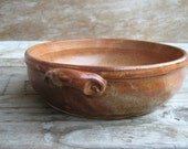 RESERVED  Small Baking Dish in Nutmeg Discounted Second