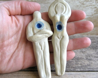 Goddess and God Figures, Athame, Ritual Altar Tools,  Male and Female, Wiccan, New Age, Magic Majick, Fertility, Meditation, Ready to Ship