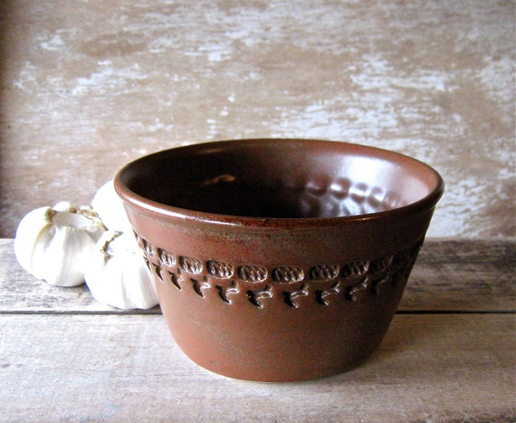 Leather Brown Baking Bowl for Everything