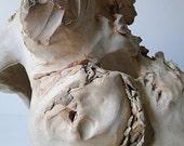 RESERVED for leimer Figure IV Ceramic Sculpture