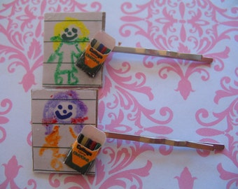 Crayola Crayons Barrettes