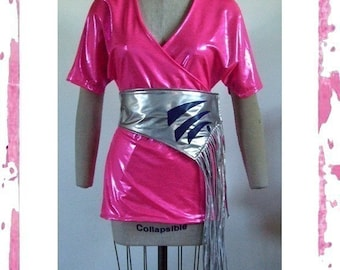 D-Jenn Halloween/Cosplay Jem and The Holograms Costume Made to Order