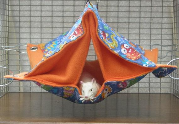 Pet Hammock  Pup Tent rat, rodent, Guinea Pig, Sugar Glider, Squirrel,hedgehog