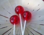 5 3D Sphere Round Ball Lollipop Suckers