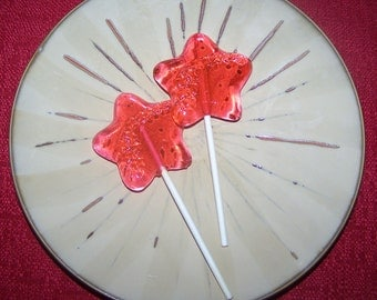 8 Shooting Star Lollipop Baby Party Favor Sucker Princess Wand