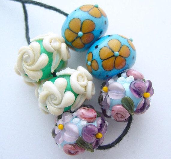 HOLDING for bk - Earring Lovers Set - 6 Beads - rounds- SRA