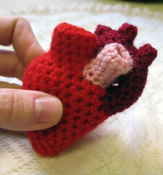 Plush Anatomical Heart (Chunky)